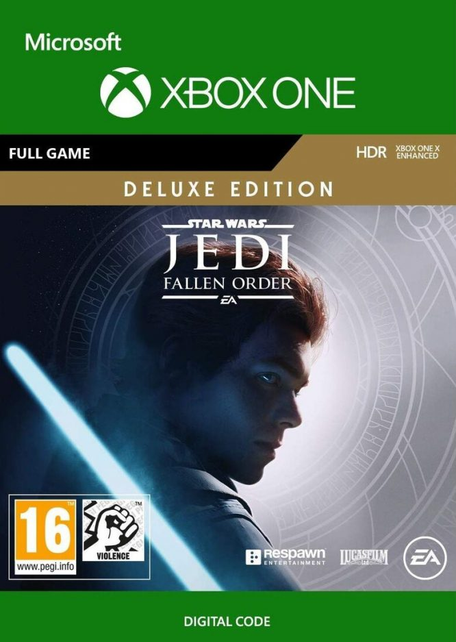 Star Wars Jedi : Fallen Order (Deluxe Edition) - Xbox One קוד דיגיטלי