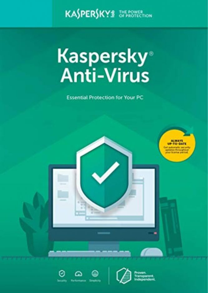 ל3 מחשבים Kaspersky Anti-Virus 2019