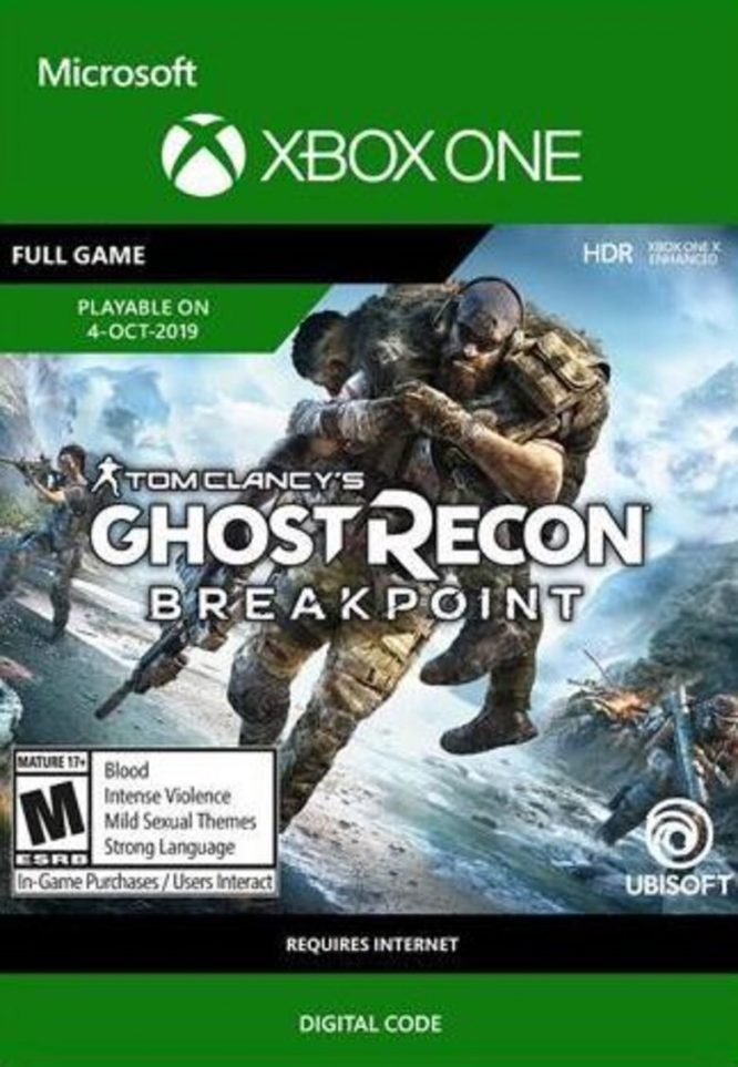 Ghost Recon Breakpoint - Xbox One משחק דיגיטלי