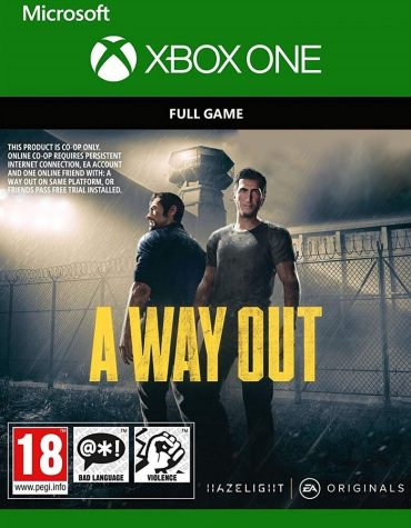 a way out xbox one משחק דיגיטלי